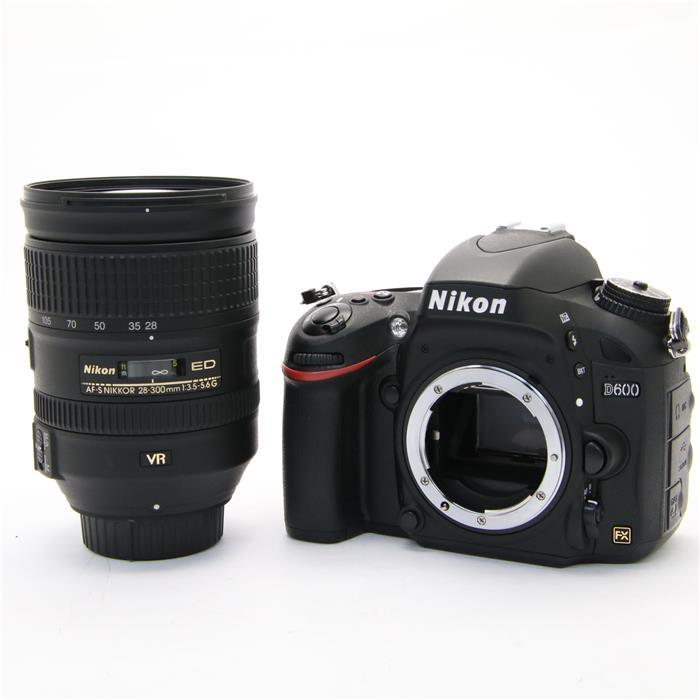 【あす楽】 【中古】 《美品》 Nikon D600 28-300 VR レンズキット [ デジタルカメラ ]