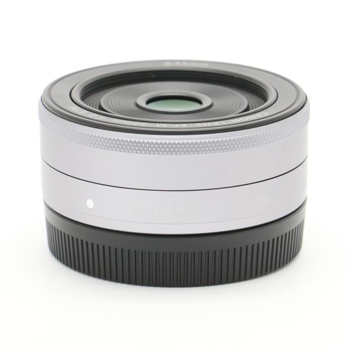 【あす楽】 【中古】 《美品》 Canon EF-M22mm F2 STM シルバー [ Lens | 交換レンズ ]