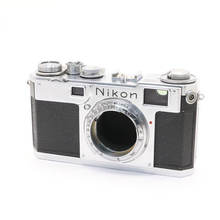 【あす楽】 【中古】 《良品》 Nikon S2 【ファインダー内清掃/シャッタースピード作動精度調整/各部点検済】