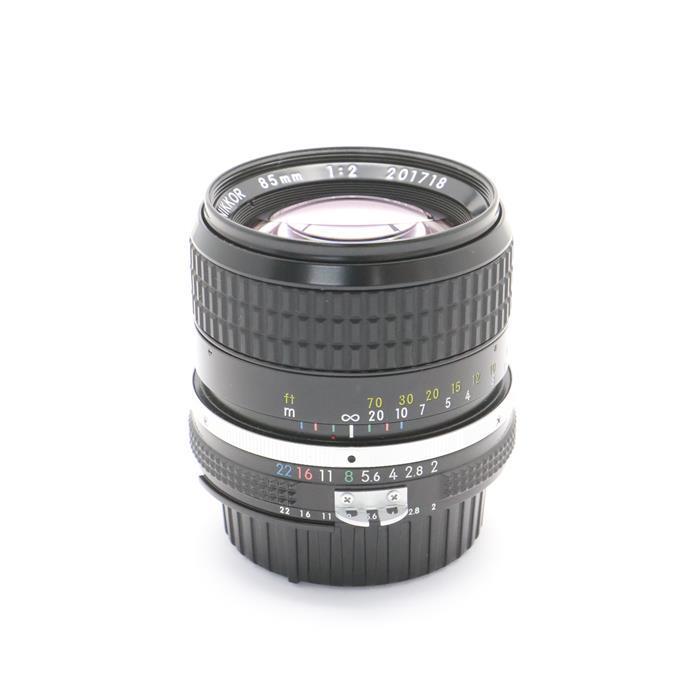 【あす楽】 【中古】 《美品》 Nikon Ai Nikkor 85mm F2 [ Lens   交換レンズ ]