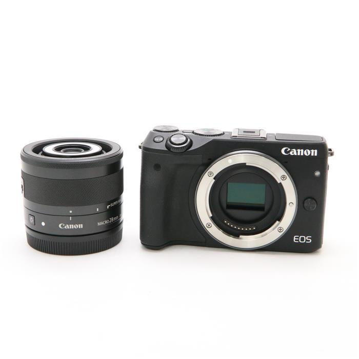 【あす楽】 【中古】 《美品》 Canon EOS M3 クリエイティブマクロレンズキット ブラック [ デジタルカメラ ]