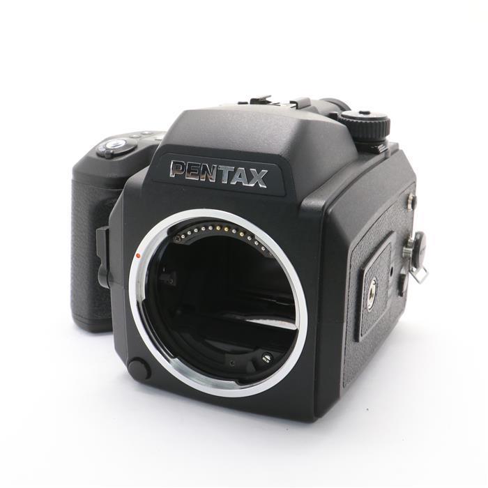 【あす楽】 【中古】 《並品》 PENTAX 645NII + 220フィルムバック 【貼り革部品交換/シャッター速度精度調整/各部点検済】