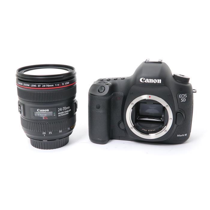 【あす楽】 【中古】 《良品》 Canon EOS 5D Mark III EF24-70L IS U レンズキット [ デジタルカメラ ]