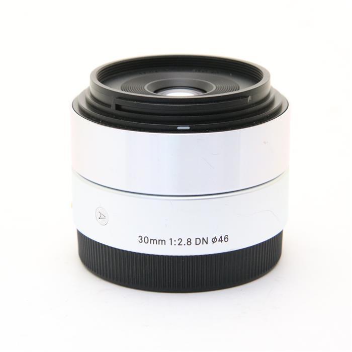 【あす楽】 【中古】 《並品》 SIGMA A 30mm F2.8 DN (ソニーE用) シルバー [ Lens | 交換レンズ ]