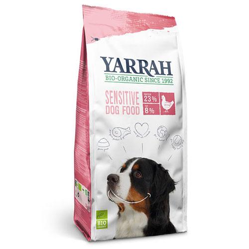 [正規品]【送料無料】  ヤラー YARRAH オーガニックドッグフード センシティブ 10kg