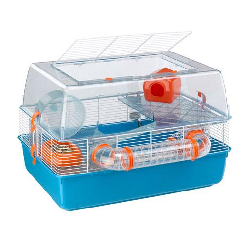 イタリアferplast社製 ハムスター マウス ケージ デュナファン Duna Fun ハウス ネズミ フルセット 小動物用 ペット用品