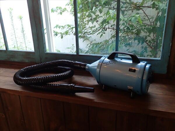日本製 トリマー用 ペットドライヤー ワンモアペッカリー ブルー