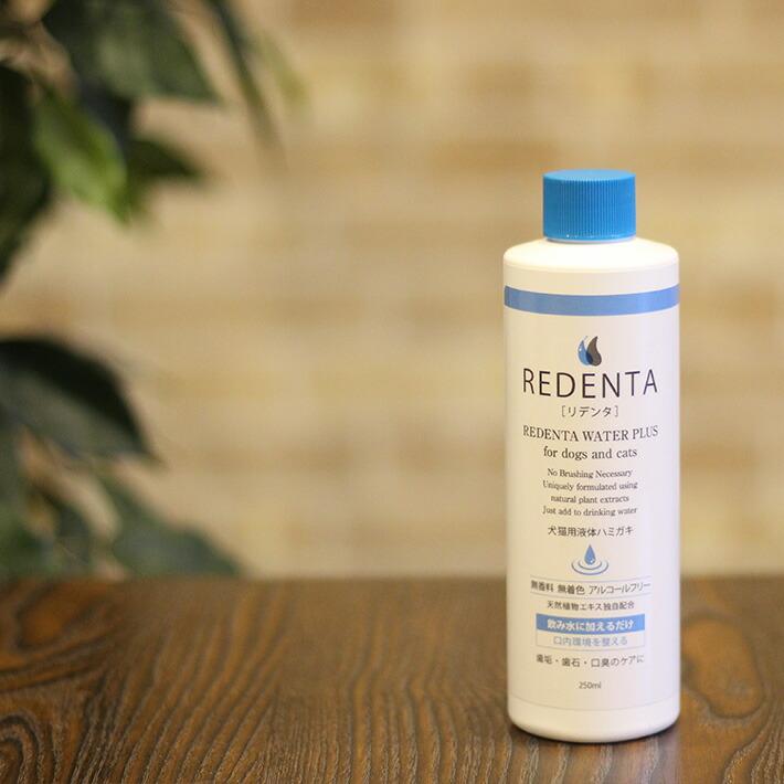送料無料 正規品 リデンタ ◆高品質 ReDenta 250ml ウォータープラス 5☆大好評 液体ハミガキ