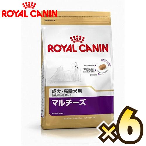 【お得なケース売り】ロイヤルカナン(ROYAL CANIN)マルチーズ ブリード ヘルス ニュートリション 成犬から高齢犬用 生後10ヶ月齢以上 1ケース(1.5kg×6個)