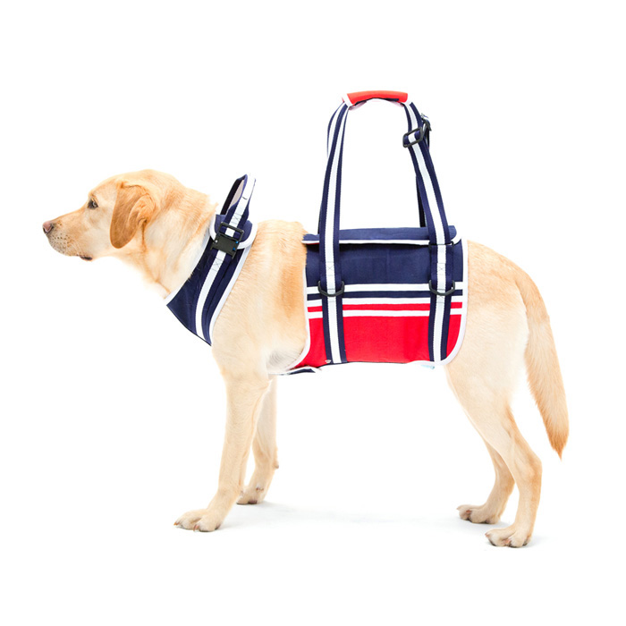 歩行補助ハーネスLaLaWalk 大型犬用 トリコロール L