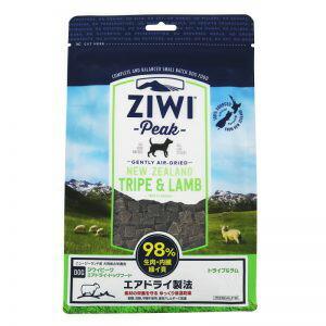 ZiwiPeak (ジウィピーク) エアドライ ドッグフード トライプ&ラム 2.5kg
