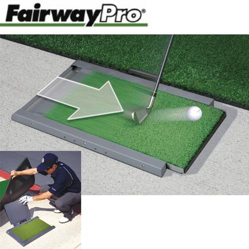 【送料無料】 Fairway Pro(フェアウェイプロ) ショットマット / ゴルフ練習用品 練習器具 練習用マット スイング スウィング ゴルフマット