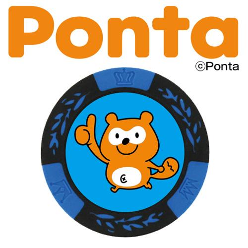 メール便送料無料 Ponta ポンタ カジノチップマーカー ゴルフマーカー ランキングTOP10 高級品 キャラクター ゴルフ用品 MK0028-1 ボールマーカー