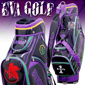 エヴァンゲリオン ゴルフ キャディバッグ 初号機 1号機 限定品 ゴルフ用品 ゴルフバッグ