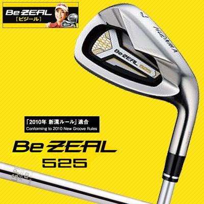 本間ゴルフ アイアン Be ZEAL ビジール 525 NSPRO950GH 6本セット(#6-#11) 日本正規品 [ホンマ]