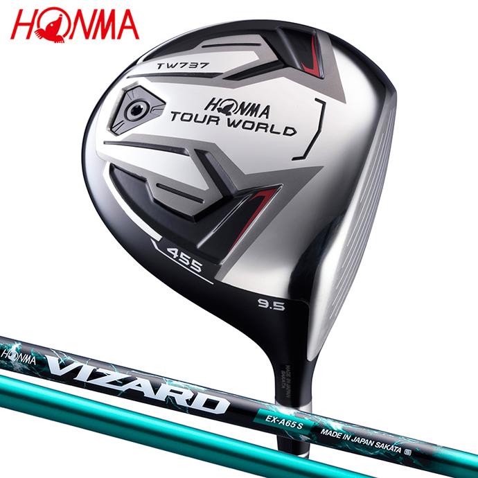 【値下げ】 本間ゴルフ ツアーワールド TW737 455 ドライバー VIZARD EX-A 日本正規品 ゴルフ用品 ホンマ