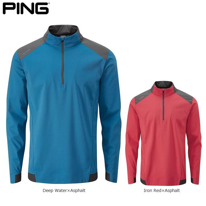 【2019年春夏】 PING ピン メンズ ゴルフウェア バーミリオン ハーフジッププルオーバー P03348 日本正規品 ゴルフ用品 アパレル (メーカー取り寄せ)