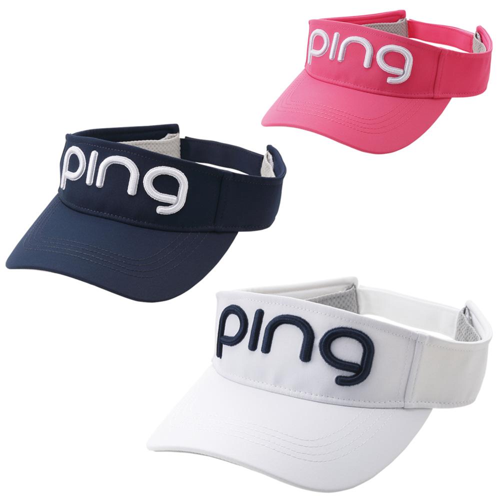 送料無料 PING ピン レディース ツアー バイザー HW-L202 受注生産品 サンバイザー ゴルフ用品 贈答品 帽子 日本正規品 ゴルフキャップ ピンゴルフ