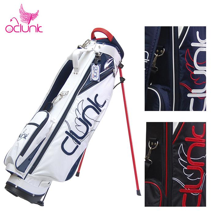 2018 CLUNK クランク ゴルフ スタンドキャディバッグ スタンドバッグ 7型 CLA1202 ゴルフ用品 メンズ レディース 軽量