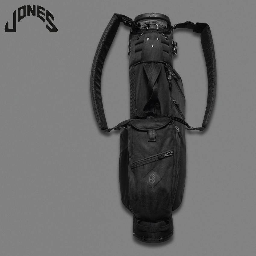【あす楽対応】 JONES ジョーンズ Utility Trouper ユーティリティ スタンドバッグ BLACK ゴルフ用品 ゴルフバッグ キャディバッグ おしゃれ メンズ レディース