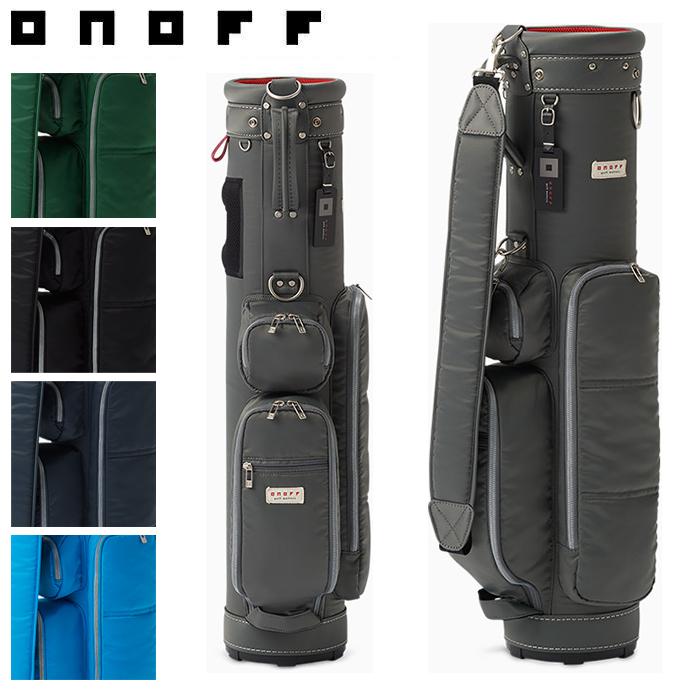 ONOFF オノフ キャディバッグ 7型 OB1418 ゴルフ用品 ゴルフバッグ 軽量 おしゃれ メンズ レディース