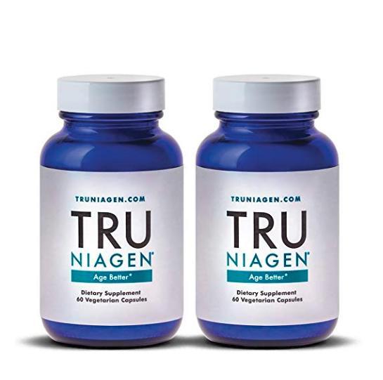 2個セット NRサプリメント NAD+ ブースター 【125mg】【60カプセル】TRU NIAGEN Nicotinamide Riboside 250mg Serving(2x 125mg)