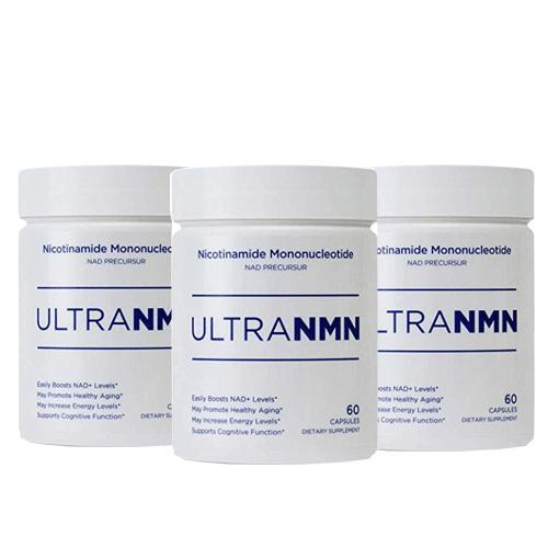3個セット Ultra NMN サプリメント【130mg】【60カプセル】Nニコチンアミドモノヌクレオチド