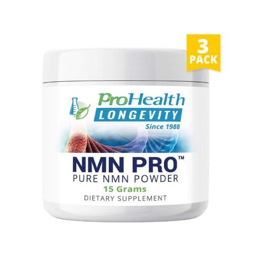 3個セット NMN パウダー サプリメント ProHealth【1スクープ/250mg】15g