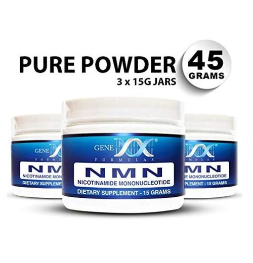 3個セット NMN パウダー Genex Formulas【100mg】【15g】Certified 99% Pure Powder
