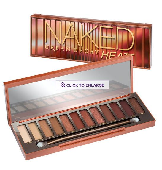 新発売!【URBAN DECAY】NAKED HEAT Eyeshadow Palette アーバンディケイ ヒート
