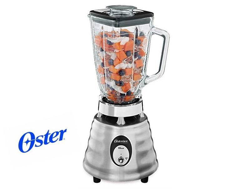 【送料無料】オスターブレンダー オスタライザー サンビーム ブレンダー ミキサー 四角角型 【600W】 Oster 4093-008 5-Cup Glass Jar 2-Speed Beehive Blender