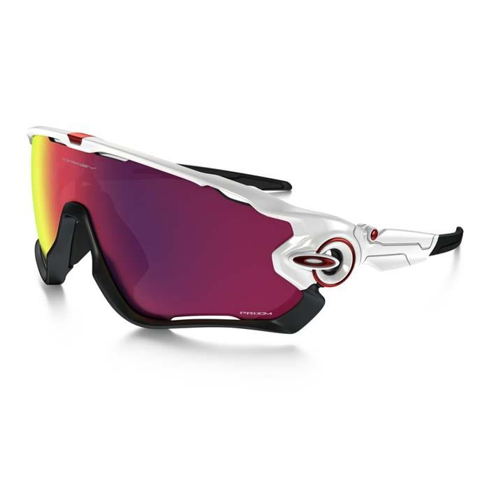 OAKLEY (オークリー) JAWBREAKER PRIZM ROAD (ASIA FIT) Polished White×Prizm Road 【自転車】