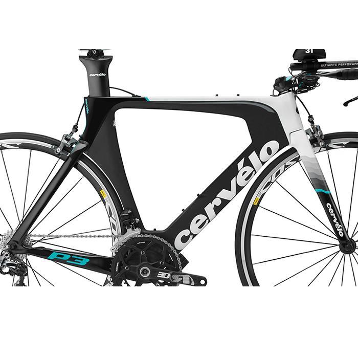Cervelo(サーベロ/サーヴェロ) 2016モデル P3 ブラック/ホワイト フレームセット 【ロードバイク】【自転車】