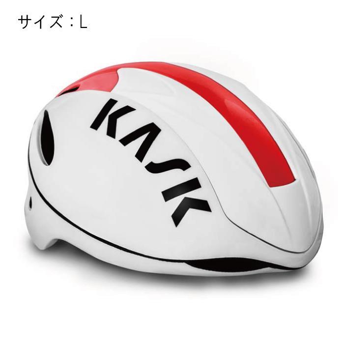 KASK(カスク) INFINITY インフィニティ レッド サイズL ヘルメット 【自転車】