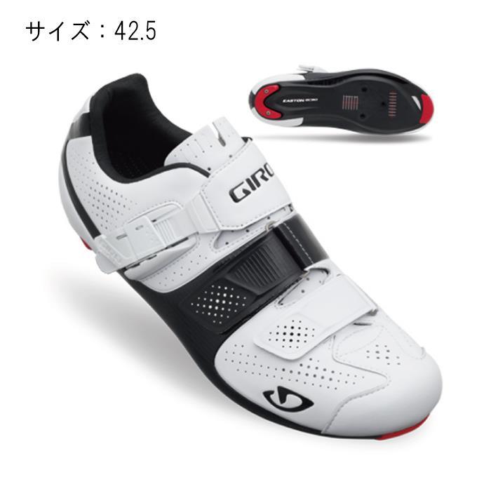 GIRO (ジロ) FACTOR ファクターACC マットホワイト/ブラック 42.5 ビンディングシューズ サイズ【自転車】