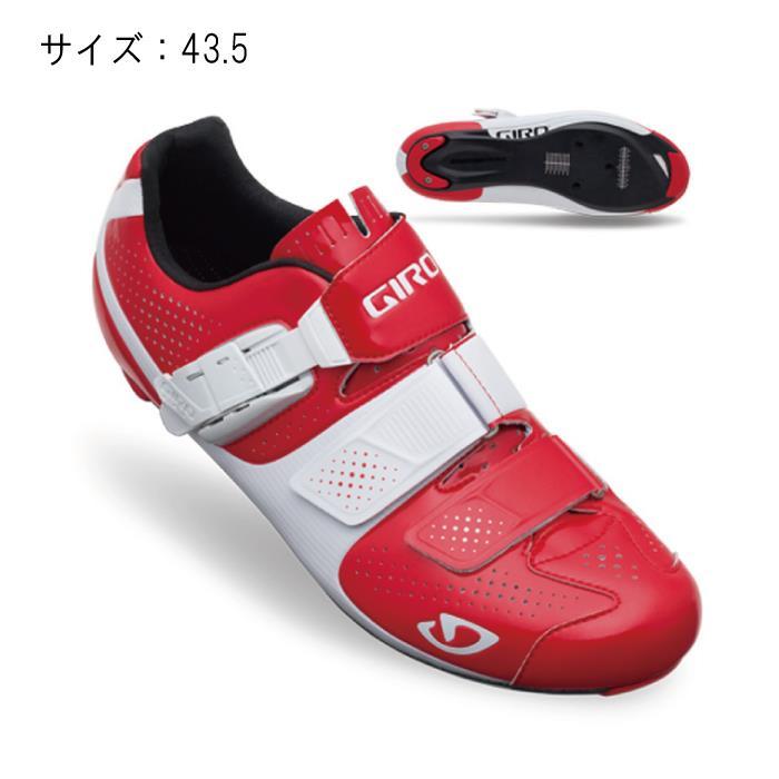 GIRO (ジロ) FACTOR ファクターACC レッド/ホワイト 43.5 ビンディングシューズ サイズ【自転車】
