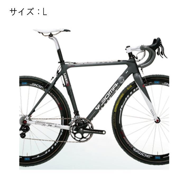 BOMA(ボーマ) L'EPICE Rエピス アールサイズL-570フレームセット ミディアムグレー サイズL【自転車】