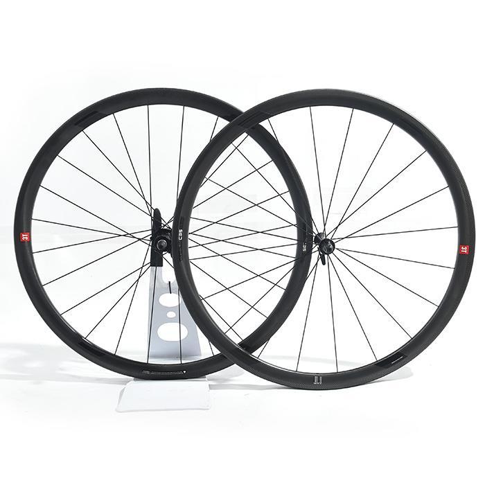 3T(スリーティー)ORBIS 2 LTD C35 STEALTH ステルス クリンチャーホイールセット 【自転車】