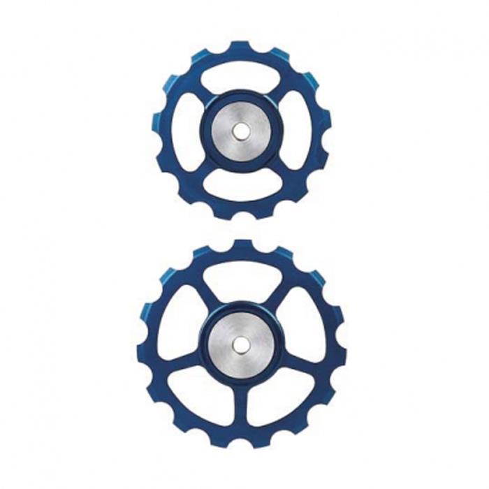 BERNER(バーナー)プーリー SET 13T-15T BLUE 【自転車】