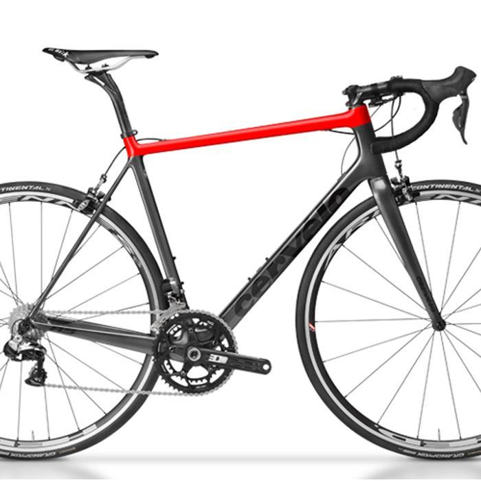 Cervelo(サーベロ/サーヴェロ) R5 グレー/レッドフレームセット 【ロードバイク】【自転車】