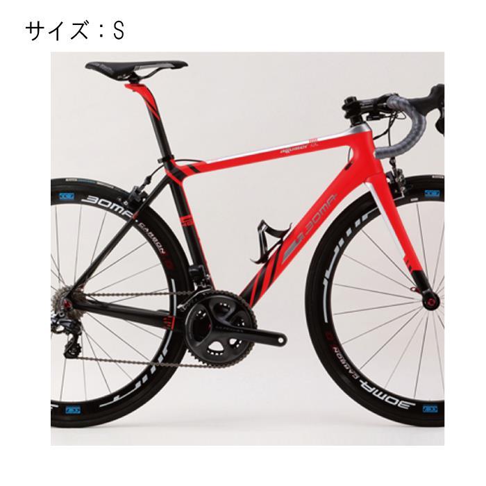 BOMA(ボーマ) ALLUMER-α (アルマー・アルファ) ショッキングレッド フレームセット  サイズS【自転車】