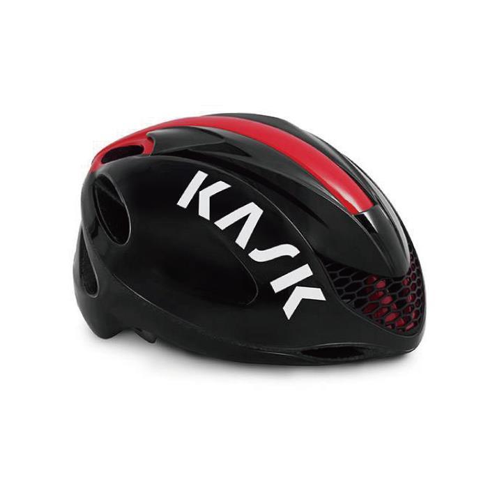 KASK(カスク)2019モデル INFINITY ブラック/レッド サイズL ヘルメット