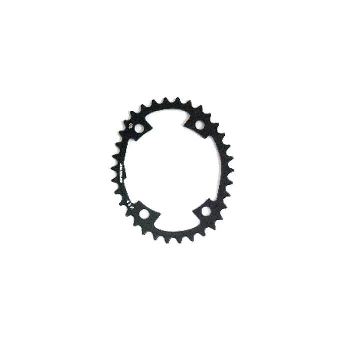 O.SYMETRIC (オー シンメトリック) チェーンリング シマノ 4アーム 34T ブラック インナーのみ 【自転車】