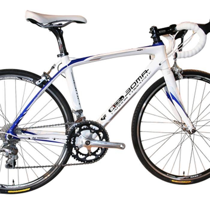 BOMA(ボーマ) VINGT QUATRE ヴァンキャトル フレームセット ホワイト×ブルー 410 / 24インチ 【キッズ】【子供】【ロードバイク】【自転車】