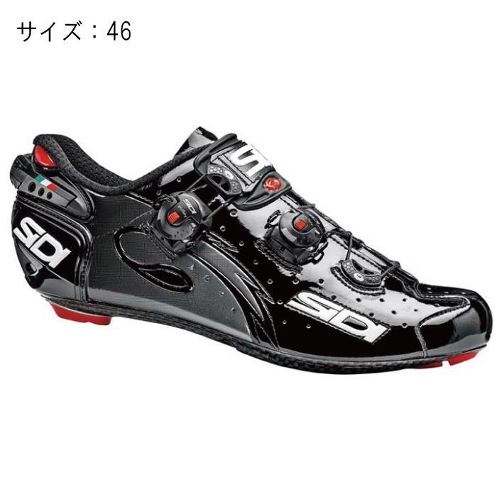 SIDI(シディ) WIRE LCD ブラック/ブラック サイズ46 ビンディングシューズ
