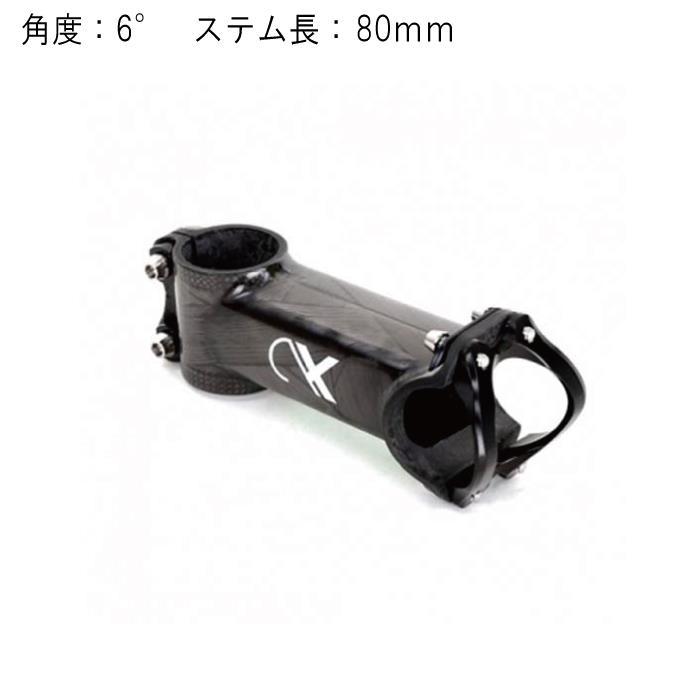 AX LIGHTNESS (エーエックス ライトネス) Rigid 6 ±6°φ31.8 80mm ステム 【自転車】