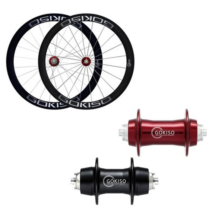 GOKISO (ゴキソ) ロード用 チューブラー カンパ用 ホイールセット 50mm【自転車】【ロードバイク】
