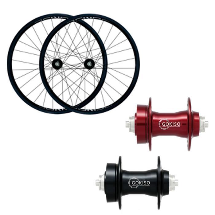 GOKISO (ゴキソ) ディスクMTB用 クリンチャー カンパ用 ホイールセット 25mm 【自転車】【ロードバイク】