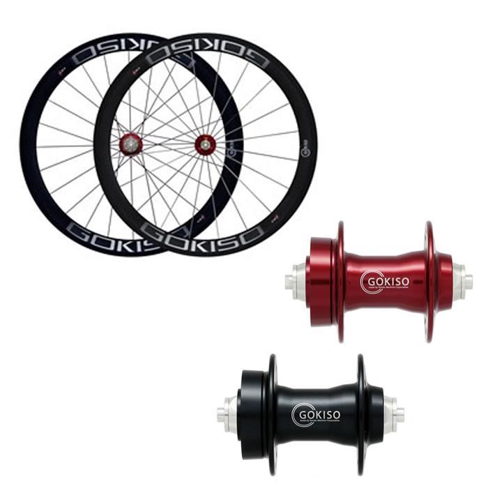 GOKISO (ゴキソ) ディスクロード用 チューブラー シマノ用 ホイールセット 50mm 【自転車】【ロードバイク】