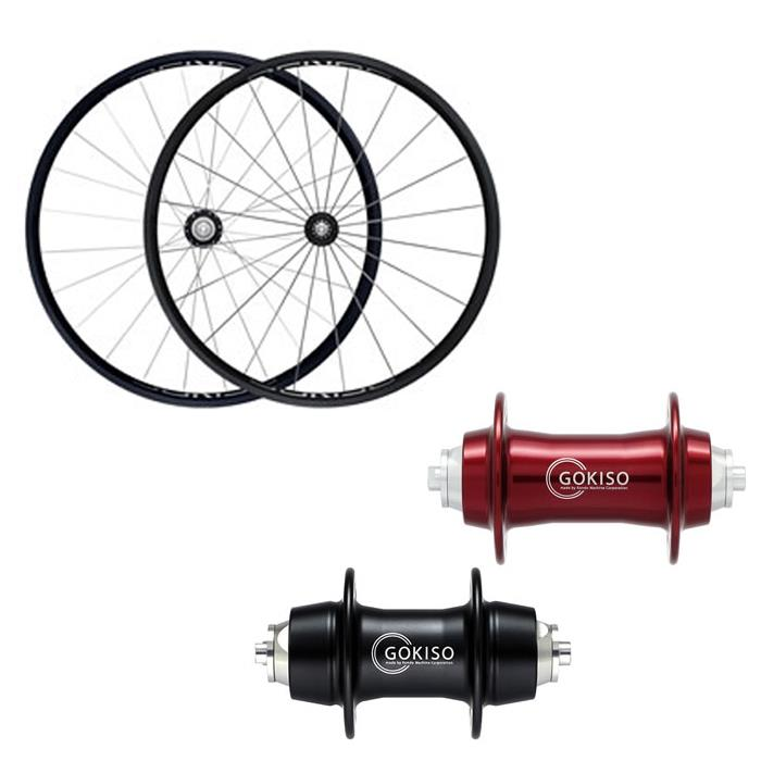 GOKISO (ゴキソ) GD2 ロード用 クリンチャー シマノ用 ホイールセット 24mm【自転車】【ロードバイク】